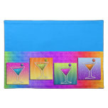 Pop Art MARTINIS PLACEMAT