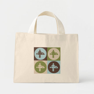 Pop Art Massage Mini Tote Bag