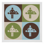 Pop Art Massage Print