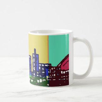 Pop Art Milton Keynes mug