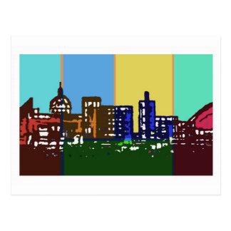 Pop Art Milton Keynes postcard