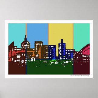 Pop Art Milton Keynes poster/print