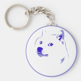 Pop Art/ minimal doge Keychain