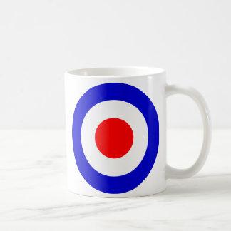 Pop Art Mods Target Coffee Mug