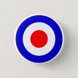Pop Art Mods Target Pinback Button