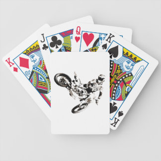 Pop Art Motocross Motorcyle Sport Bicycle Playing Cards