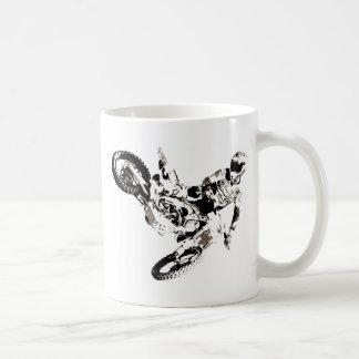 Pop Art Motocross Motorcyle Sport Coffee Mug