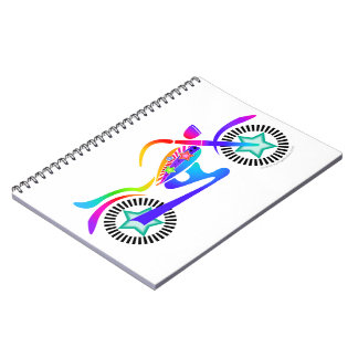 Pop Art MOTORCYCLE Diary, Journal or Notebook