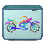 Pop Art MOTORCYCLE iPad or Laptop Sleeve Sleeve For iPads