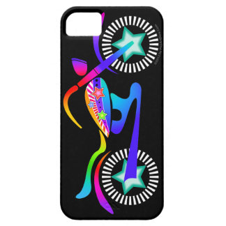 Pop Art MOTORCYCLE iPhone 5 Case-Mate Barely Th iPhone SE/5/5s Case