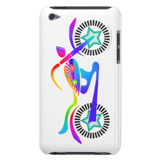 Pop Art MOTORCYCLE iPod Touch Case-Mate Barely The