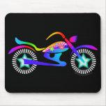 Pop Art MOTORCYCLE Mousepad
