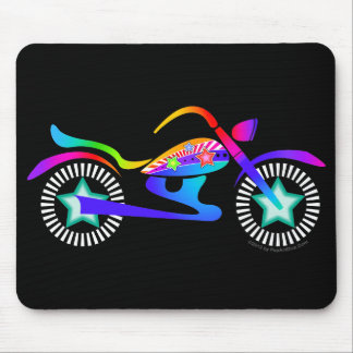 Pop Art MOTORCYCLE Mousepad