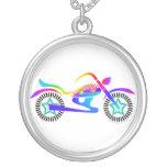 Pop Art MOTORCYCLE Necklace