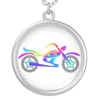 Pop Art MOTORCYCLE Necklace