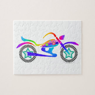 Pop Art MOTORCYCLE PUZZLE