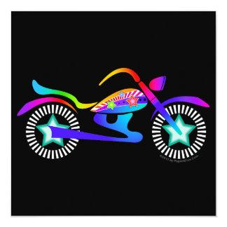 Pop Art MOTORCYCLE Rally - Festival Invitation