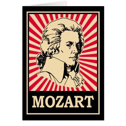 Pop Art Mozart Card
