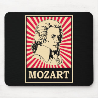 Pop Art Mozart Mouse Pad