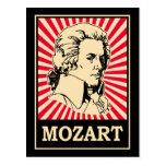 Pop Art Mozart Postcard