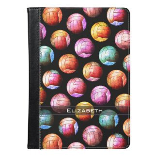 Pop Art Multicolor Volleyballs iPad Air Case