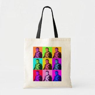 Pop Art Napoleon Budget Tote Bag
