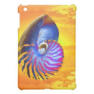 pop art nautilus iPad mini case