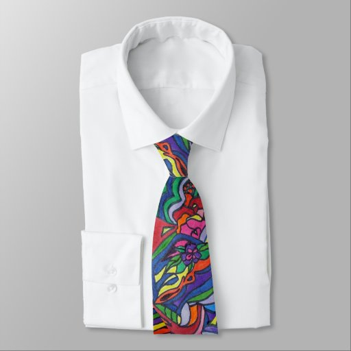 Pop Art Neck Tie
