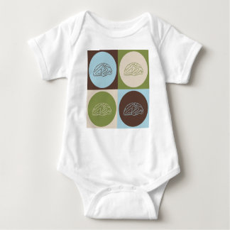 Pop Art Neuroscience Baby Bodysuit