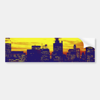 Pop Art New York Car Bumper Sticker