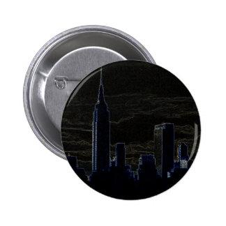 Pop Art New York City Button