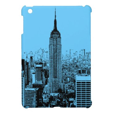 USA Themed Pop Art New York City Case For The iPad Mini