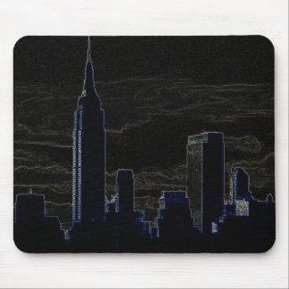 Pop Art New York City Mouse Pad