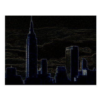 Pop Art New York City Postcard