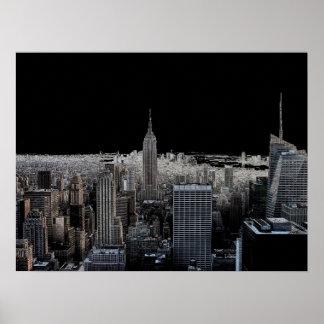Pop Art New York City Poster Print