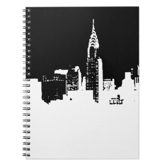 Pop Art New York City Spiral Photo Notebook