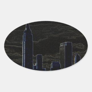 Pop Art New York City Stickers