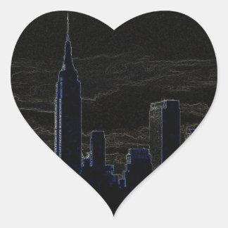 Pop Art New York City Sticker