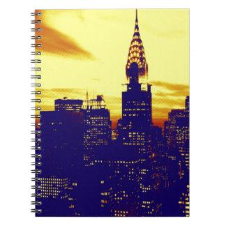 Pop Art New York Notebook