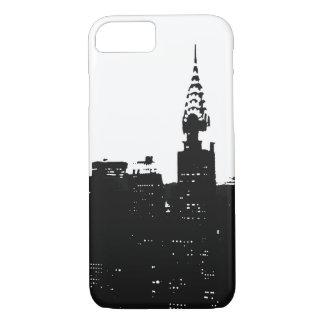 Pop Art New York Silhouette iPhone 7 Case