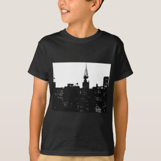 Pop Art New York Silhouette T-Shirt