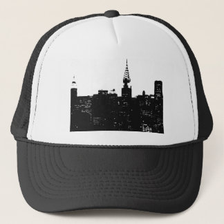 Pop Art New York Silhouette Trucker Hat