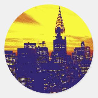 Pop Art New York Stickers