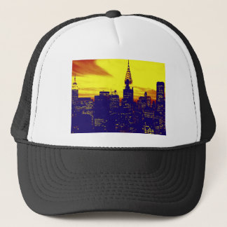Pop Art New York Trucker Hat