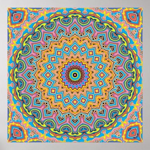 Pop Art No. 2 Kaleidoscope Poster