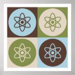 Pop Art Nuclear Physics Poster