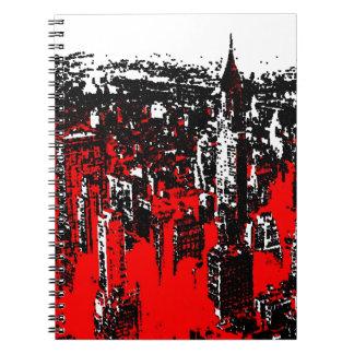 Pop Art NY New York City Notebook