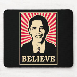 Pop Art Obama Mouse Pad