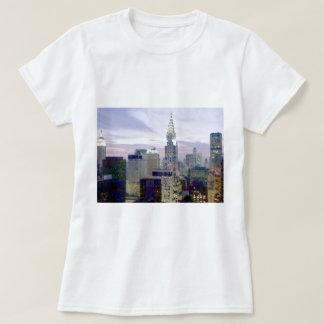 Pop Art Oil Paint Effect New York T-Shirt