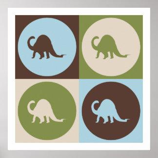 Pop Art Paleontology Poster
